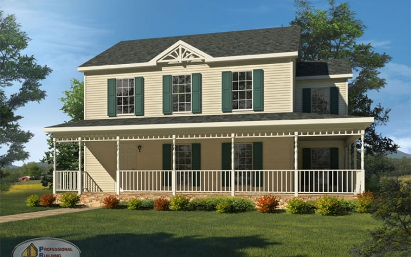Sagamore professional building systems for Two story double wide homes