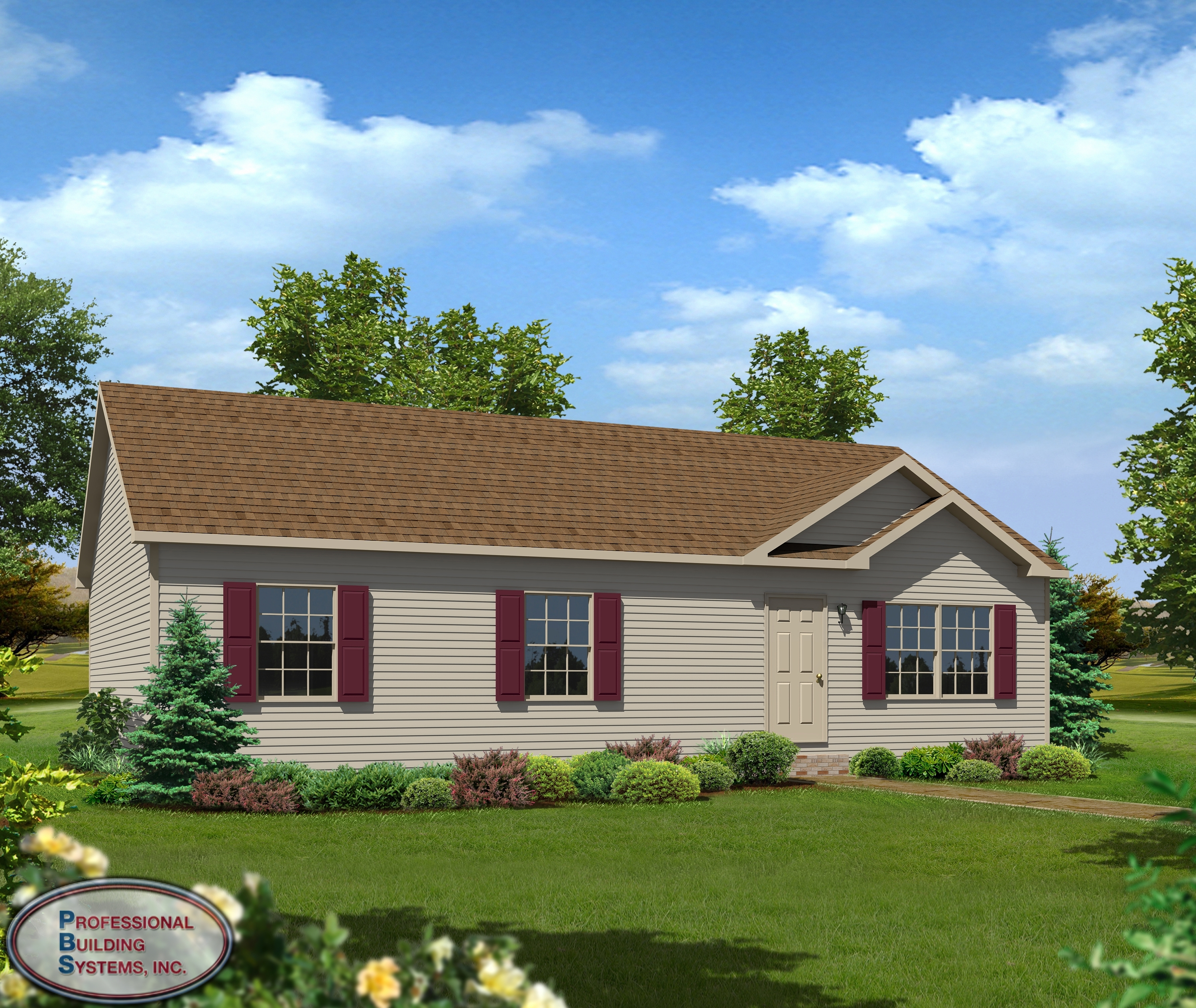 100 Windham Ranch Style Modular Home Willow Creek