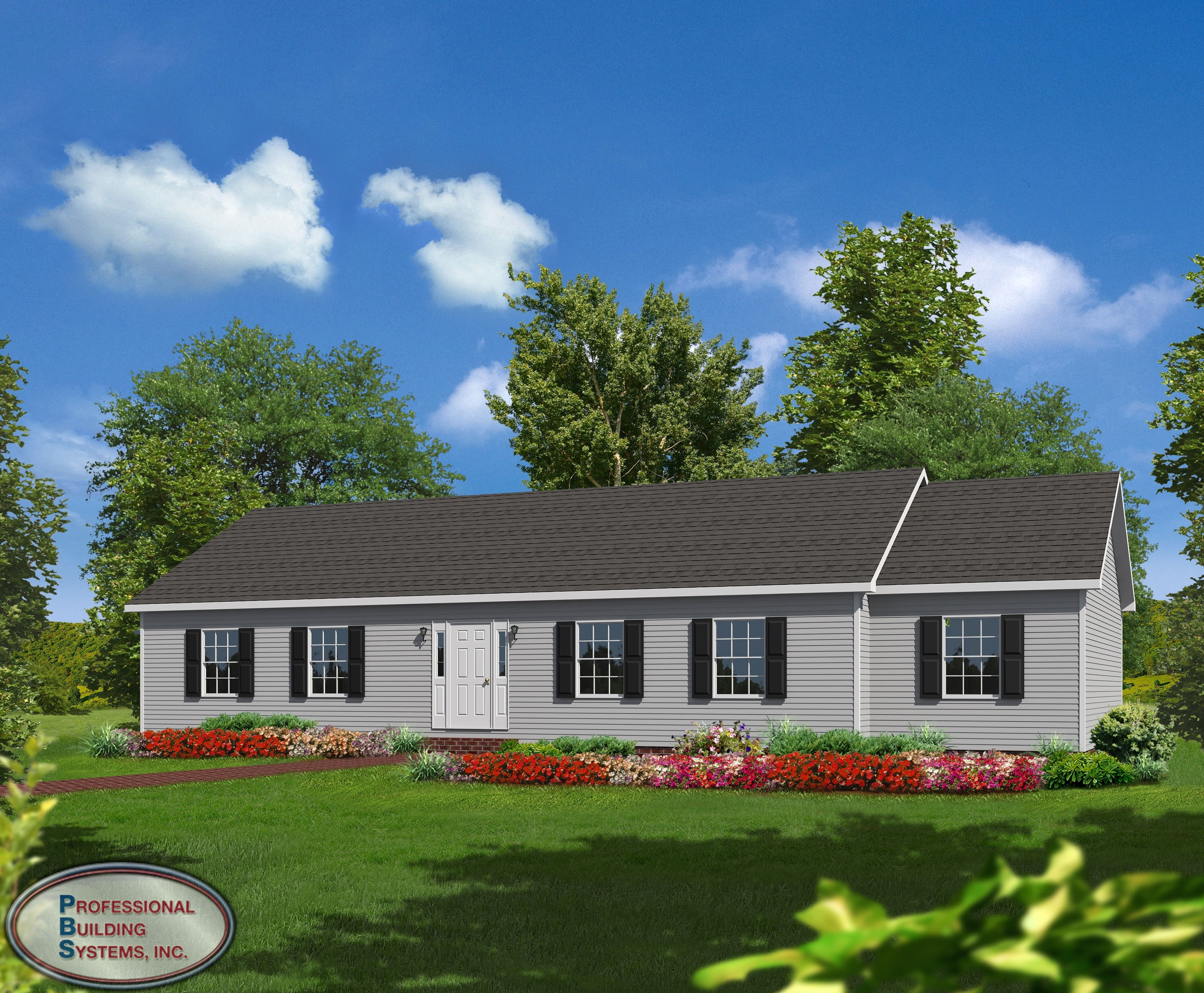 Brook park professional building systems for New ranch style homes in maryland